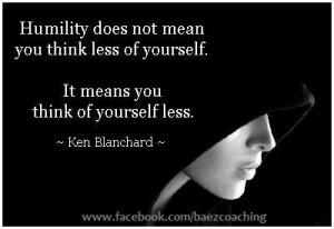 humilityis