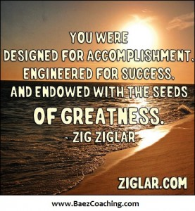 You are designed for success