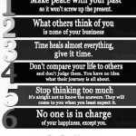 Keys to Live by