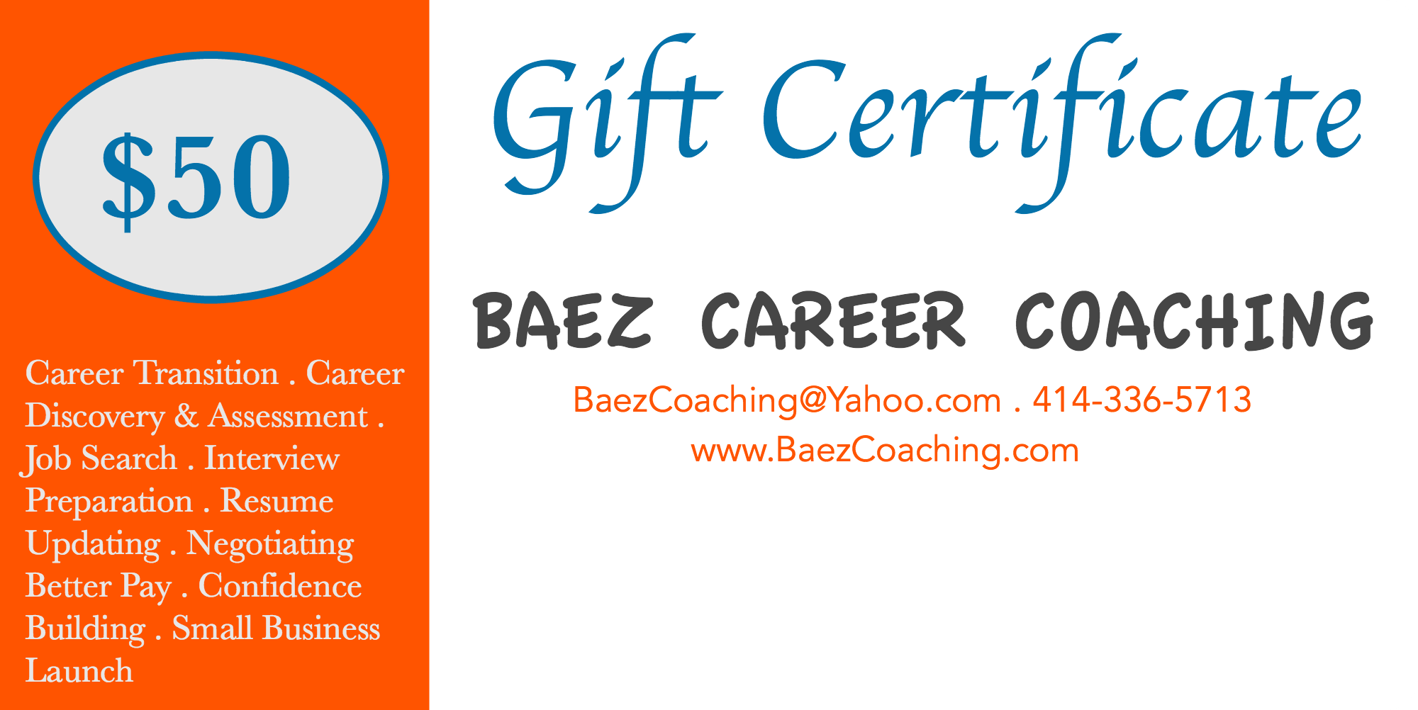 gift cards baez coaching consulting gc2