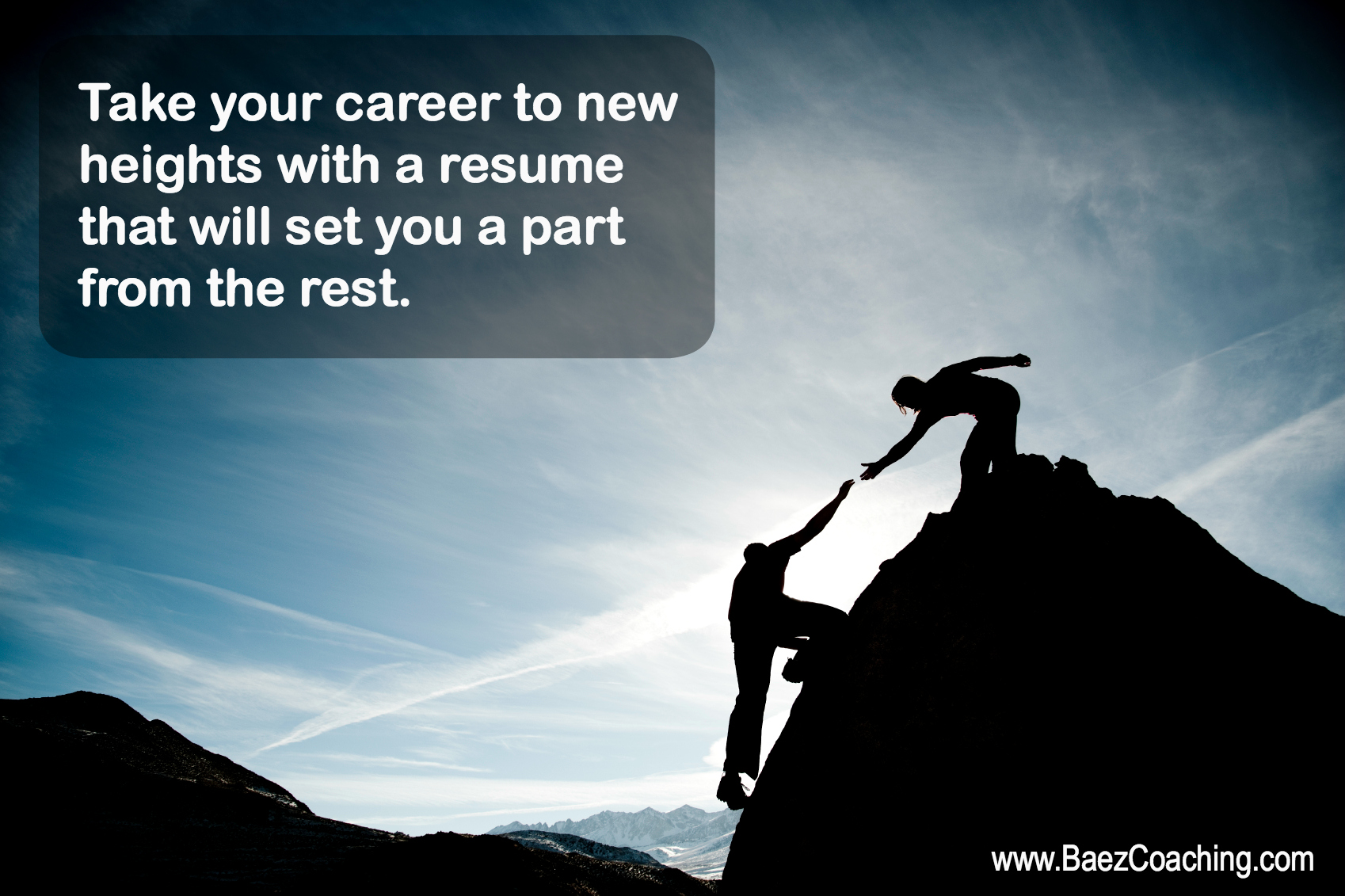 baez coaching and consulting offers customized resume and cover letter coaching and updating to showcase the key highlights of your career goals and